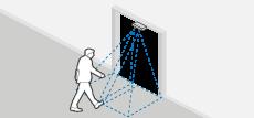 Tekio contapersone telecamera wi-fi tracking: rilevazione tarffico precisa, no ombre, icona