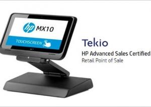 Tekio mobile retail: HP POS MX 10 per negozi e punti vendita