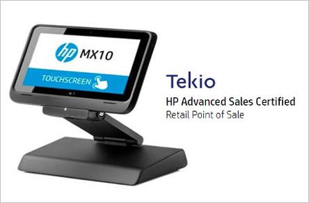 HP MX10 Tekio mobile retail: HP POS MX 10 per negozi e punti vendita