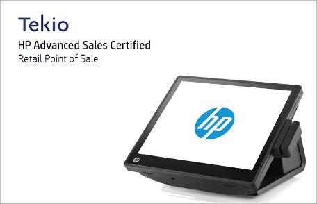 HP RP7 Tekio retail: HP POS RP7 per negozi e punti vendita