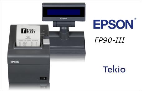 Epson FP-90III Tekio Retail fiscale per negozi e catene di punti vendita