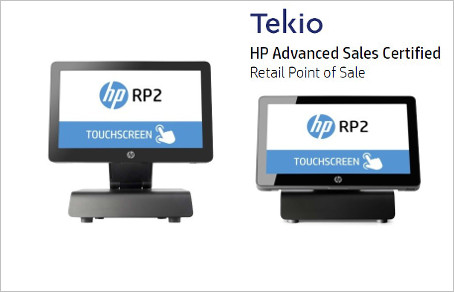 Tekio mobile retail: HP POS RP2 per negozi e punti vendita
