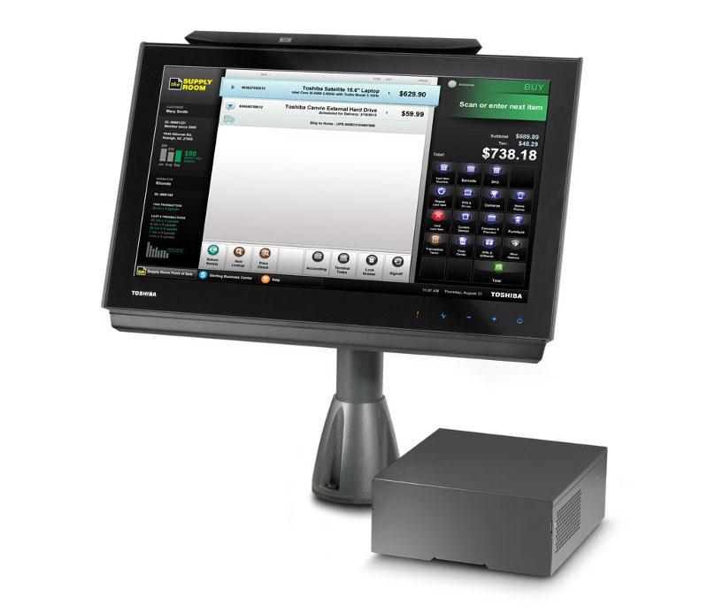 Toshiba TCxWave, sistemi POS per negozi, Tekio retail hardware Toshiba